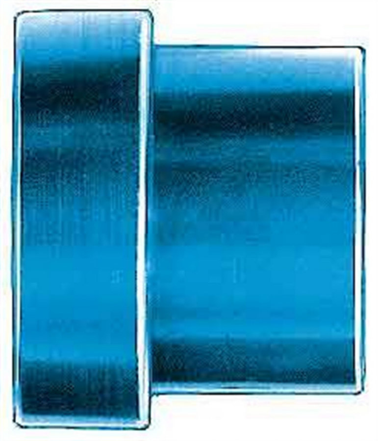 Aeroquip FBM3669 Fitting, Tube Sleeve, 3 AN, 3/16 in Tube, Aluminum, Blue Anodized, Set of 6