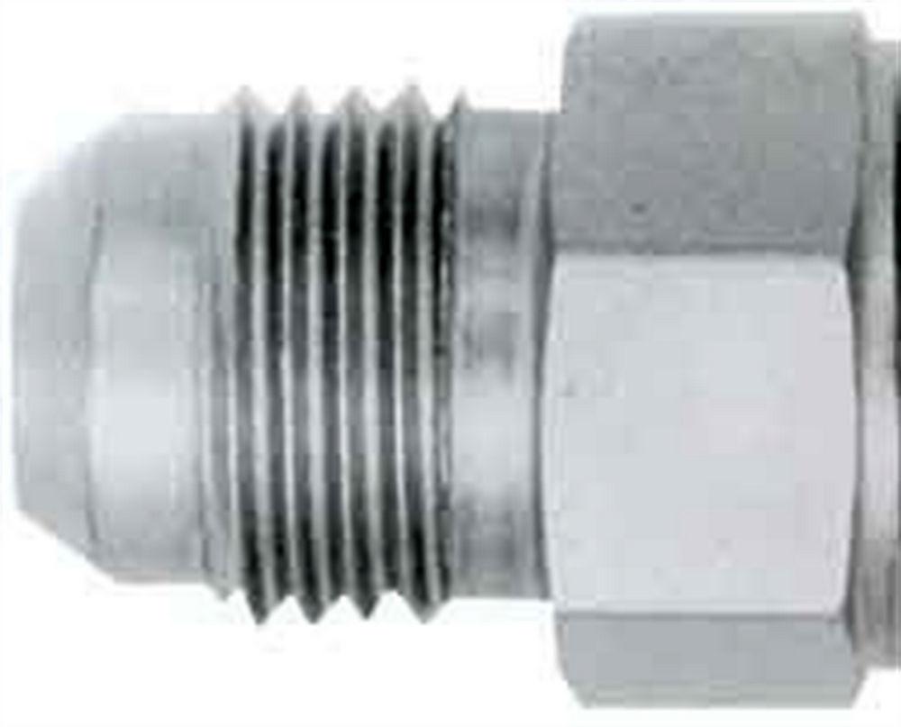 Aeroquip FCM2871 Bung, 4 AN Male, Weld-On, 1/4 in Diameter, Braze, Steel, Natural, Each