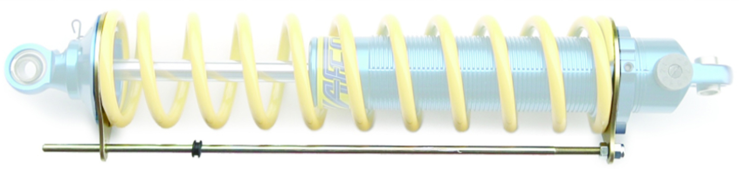 AFCO Racing Products 20116 Travel Indicator, 2-5/8 in Springs, Steel Rod, Aluminum Mounting Rings, Blue Anodize, Kit