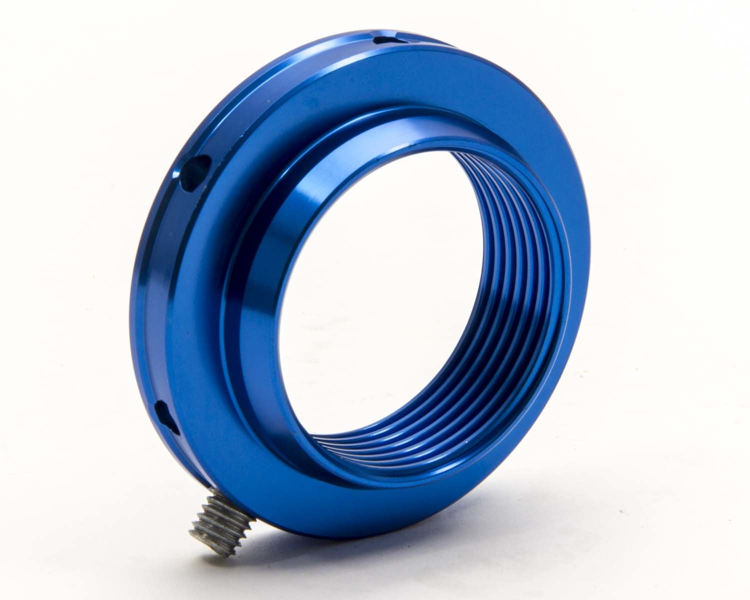 AFCO Racing Products 20131A Coil-Over Adjuster Nut, Aluminum, Blue Anodize, AFCO Big Body Coil-Over Kit, Each