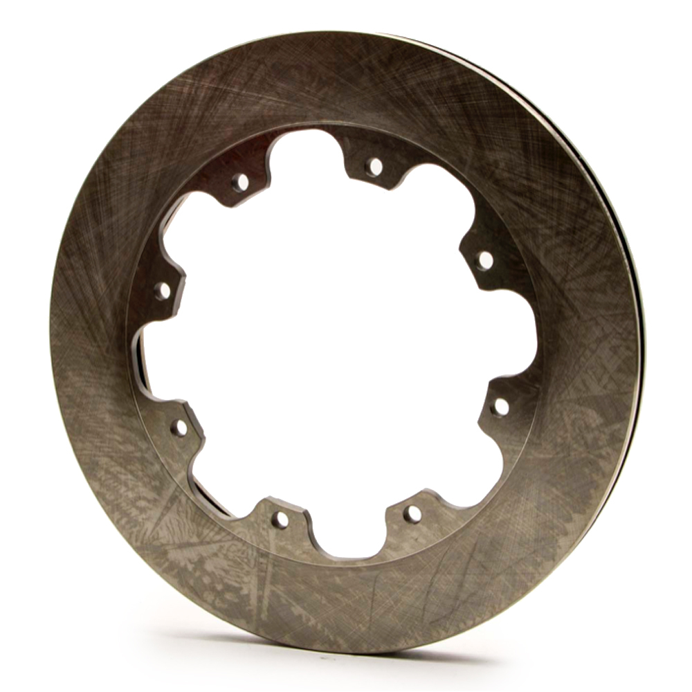 AFCO Racing Products 6640100 Brake Rotor, Pillar Vane, 11.750 in OD, 0.810 in Thick, 8 x 7.000 in Bolt Pattern, Iron, Natural, Each