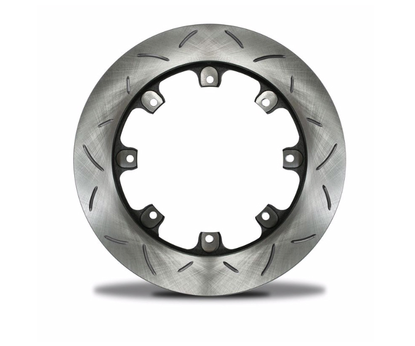 AFCO Racing Products 6640147 Brake Rotor, Ultralight, Slotted, Left, 11.760 in OD, 0.810 in Thick, 8 x 7.000 in Bolt Pattern, Steel, Each