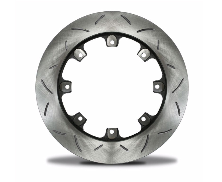 AFCO Racing Products 6640148 Brake Rotor, Ultralight, Slotted, Right, 11.760 in OD, 0.810 in Thick, 8 x 7.000 in Bolt Pattern, Steel, Each