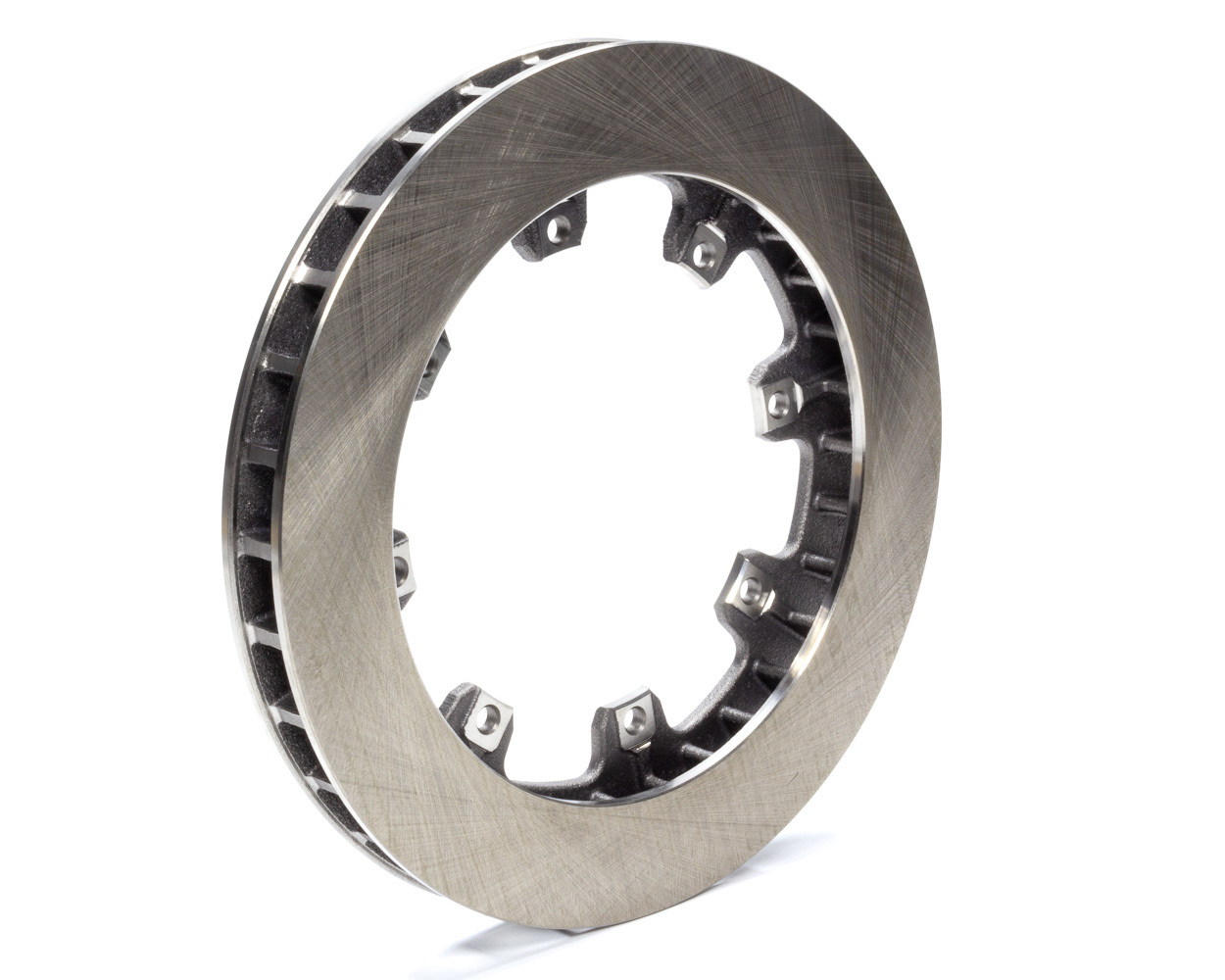 AFCO Racing Products 9850-6020 Brake Rotor, Straight Vane, 11.750 in OD, 1.250 in Thick, 8 x 7.000 in Bolt Pattern, Steel, Natural, Each