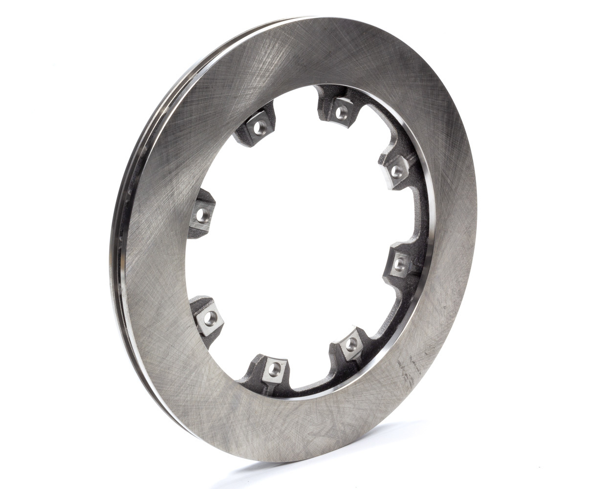 AFCO Racing Products 9850-6021 Brake Rotor, Straight Vane, 11.750 in OD, 0.810 in Thick, 8 x 7.000 in Bolt Pattern, Steel, Natural, Each