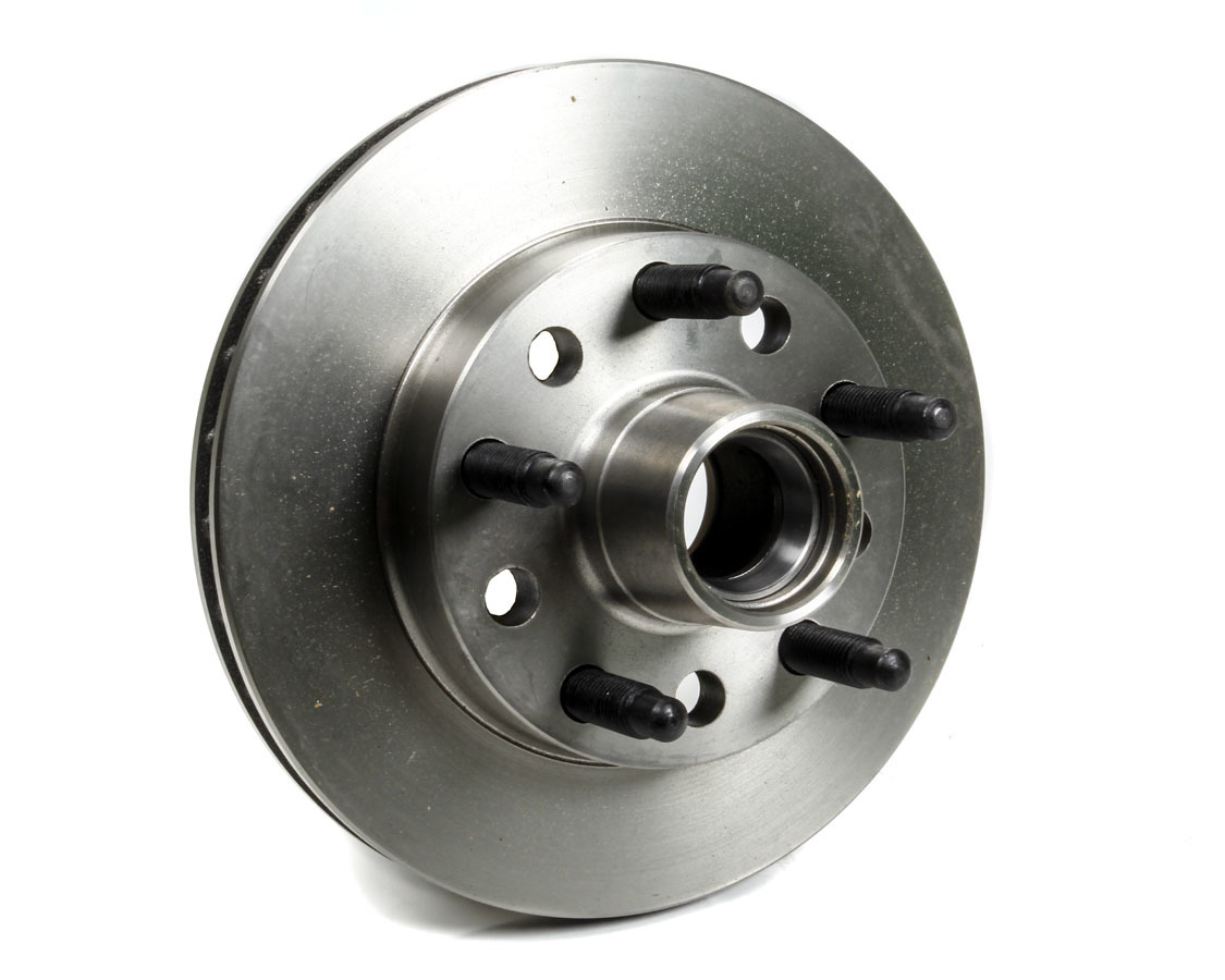 AFCO Racing Products 9850-6500 Brake Rotor, 10.500 in OD, 1.000 in Thick, 5 x 5.00 in Bolt Pattern, Steel, Natural, GM Metric Style, Each