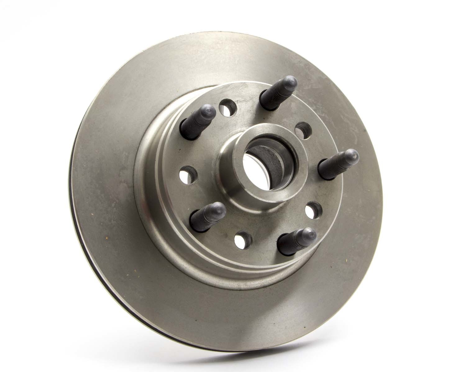 AFCO Racing Products 9850-6510 Brake Rotor, 11.000 in OD, 0.880 in Thick, 5 x 5.00 in Bolt Pattern, Iron, Natural, Ford Style, Each