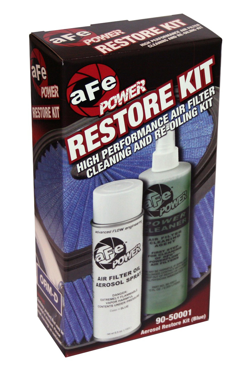 Air Filter Cleaning Kit Blue Oil Aerosol