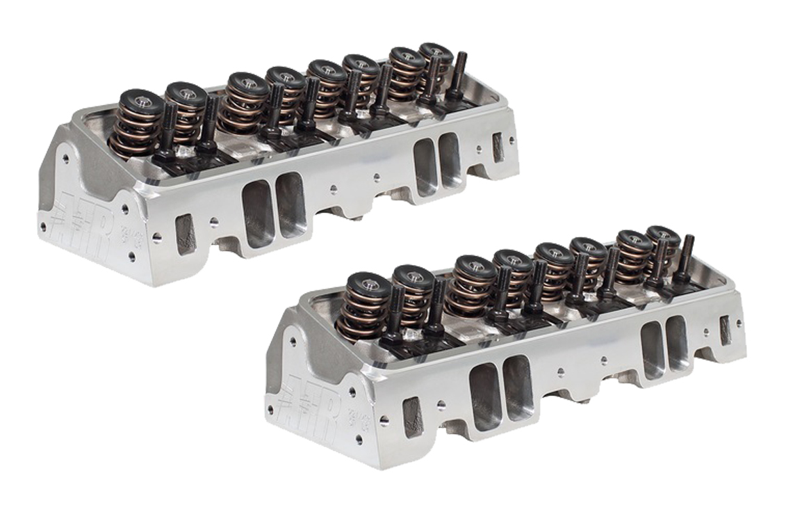 SBC 245cc CNC Alum Heads Eliminator NPP Racing