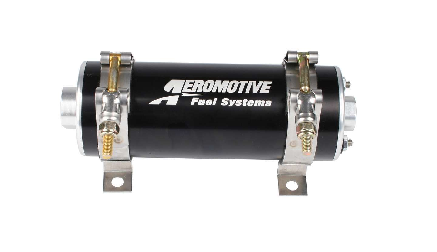 Aeromotive 11103 Fuel Pump, A750, Electric, In-Line / In-Tank, 92 gph at 45 psi, 8 AN Inlet, 6 AN Outlet, Black, E85 / Gas / Diesel, Each