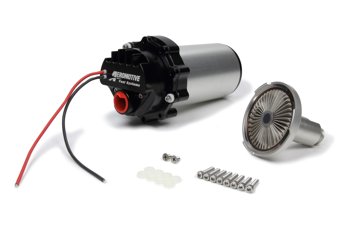 Aeromotive 18023 Fuel Pump, A1000 Stealth, Electric, In-Tank, 117 gph at 45 psi, 10 AN Outlet, E85 / Gas, Kit