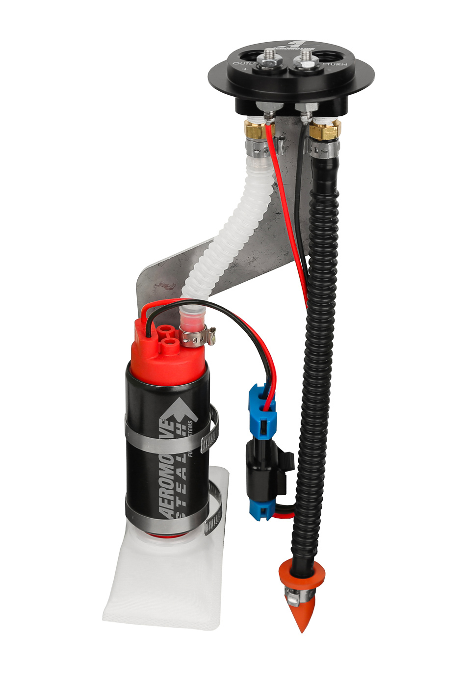 Aeromotive 18638 Fuel Pump, 340 Stealth, Electric, In-Tank, 340 lph at 45 psi, Hanger, Direct Fit, Ford Mustang 1983-97, Kit