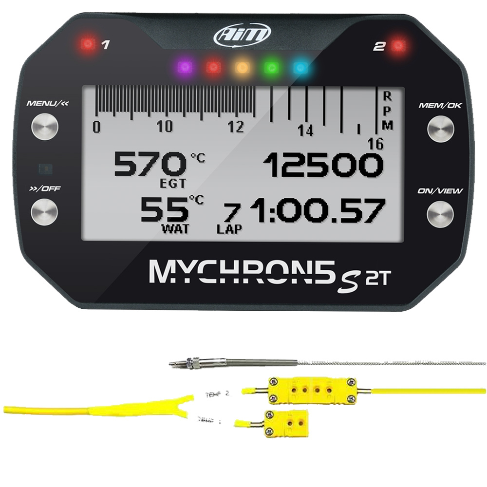 Aim Sports MyChron 5S 2T w/ EGT & Water Temp