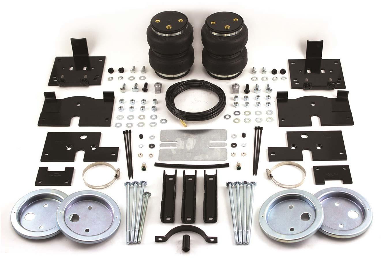 Air Lift 57200 Air Spring Kit, Loadlifter 5000, Bags / Brackets / Lines, 5000 lb Capacity, Black Powder Coat Brackets, Rear, Ford Fullsize Truck 2004-14, Kit