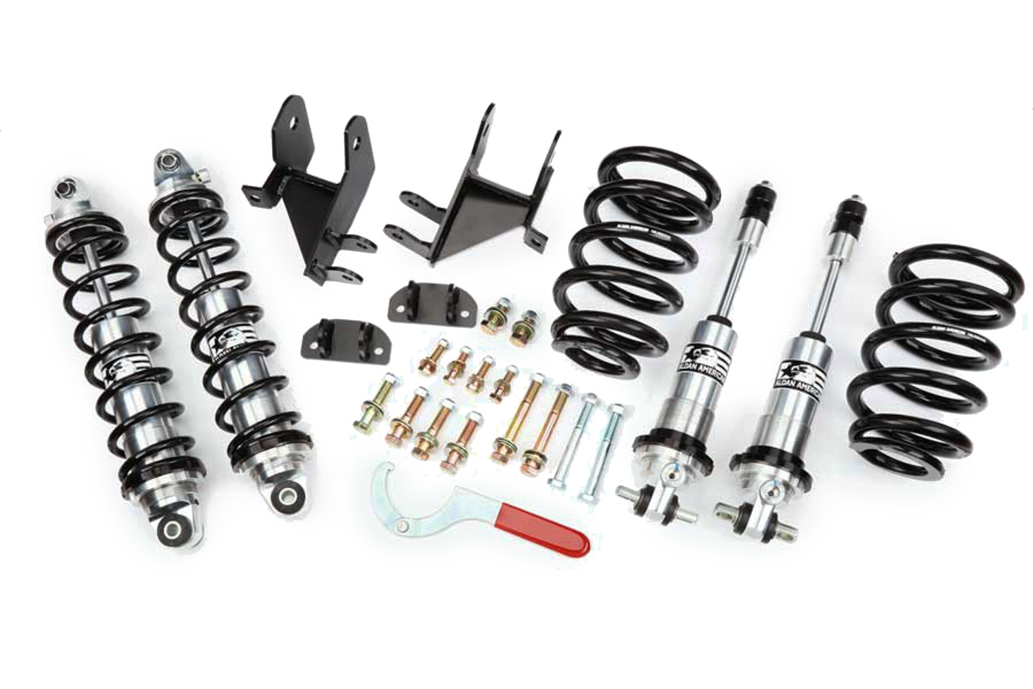 Coil Over Shock Kit - Frt/RR GM A-Body 68-72