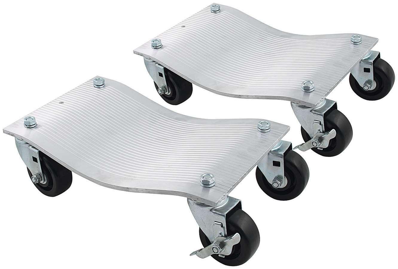Wheel Dollies Aluminum 1pr Dlx Casters