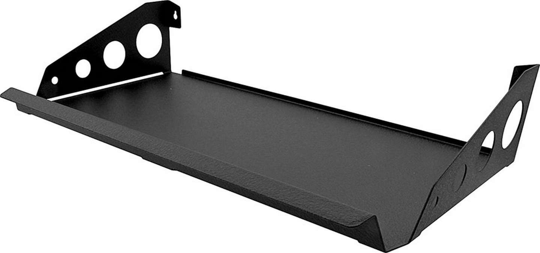 Allstar Performance 12228 Utility Shelf, 36 in Long, 12 in Wide, Steel, Black Paint, Each