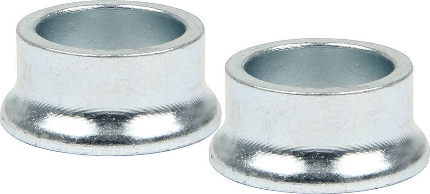 Allstar Performance 18587 Tapered Spacer, 3/4 in ID, 1/2 in Thick, Steel, Zinc Oxide, Universal, Pair