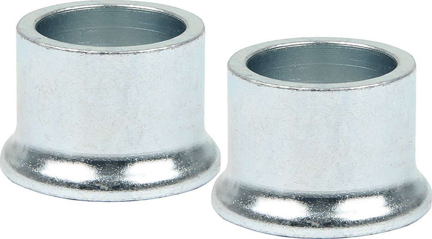 Allstar Performance 18588 Tapered Spacer, 3/4 in ID, 3/4 in Thick, Steel, Zinc Oxide, Universal, Pair