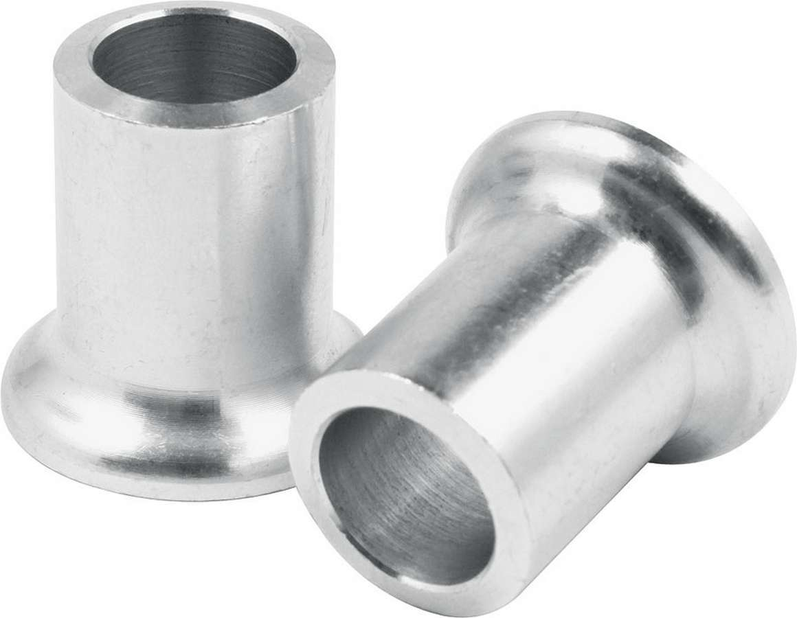 Allstar Performance 18596 Tapered Spacer, 1/2 in ID, 1 in Thick, Aluminum, Natural, Universal, Pair