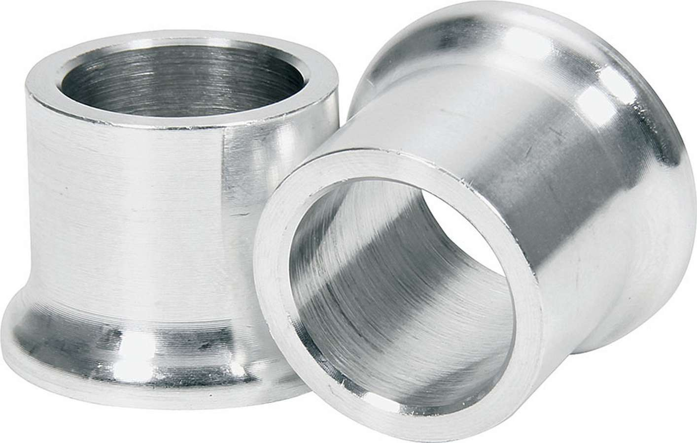Allstar Performance 18599 Tapered Spacer, 5/8 in ID, 3/4 in Thick, Aluminum, Natural, Universal, Pair