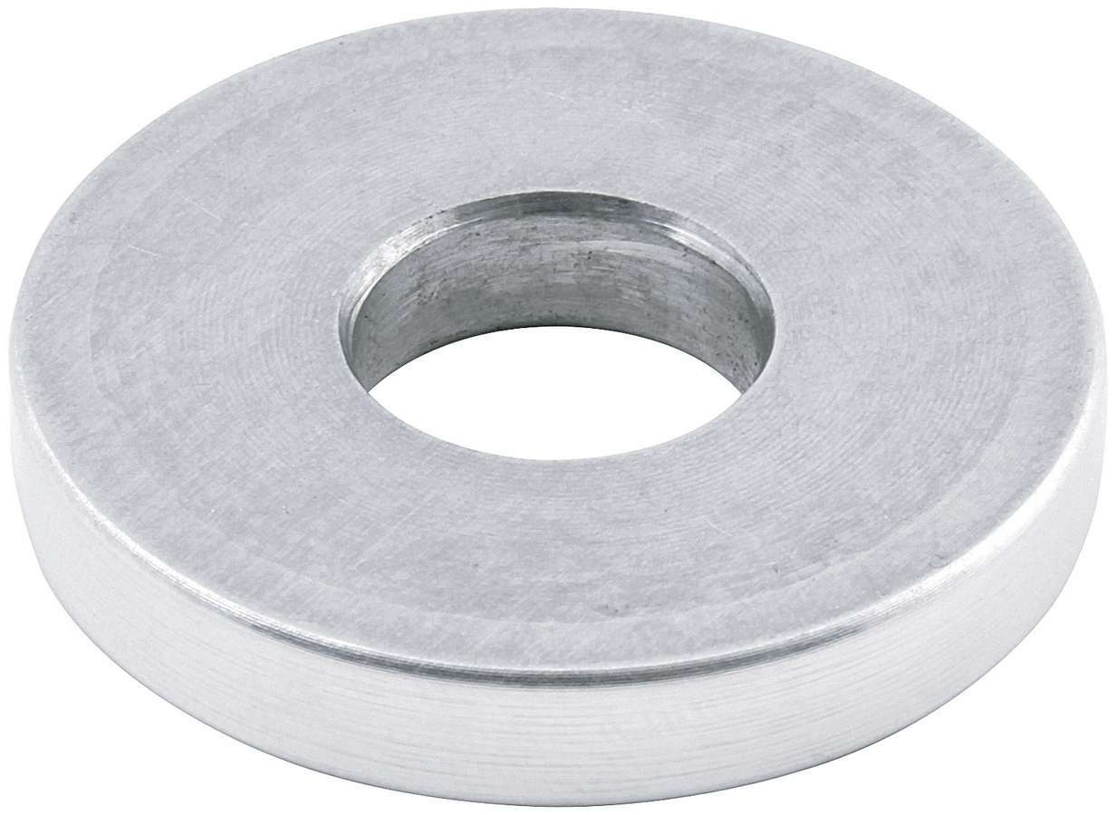 Allstar Performance 18620 Motor Mount Spacer, 1/4 in Tall, 1/2 in ID, 1-1/2 in OD, Aluminum, Natural, Each