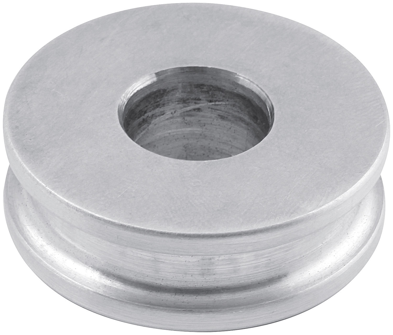 Allstar Performance 18621-10 Motor Mount Spacer, 1/2 in Tall, 1/2 in ID, 1-1/2 in OD, Aluminum, Natural, Set of 10