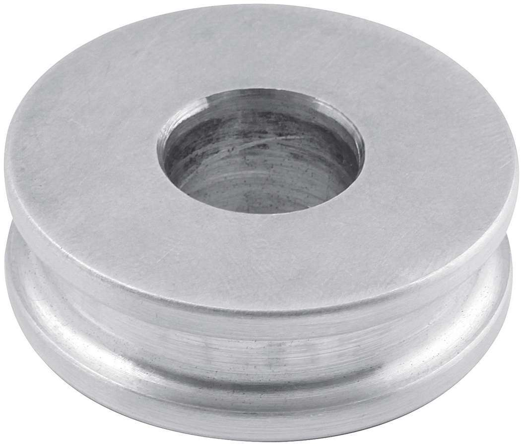 Allstar Performance 18621 Motor Mount Spacer, 1/2 in Tall, 1/2 in ID, 1-1/2 in OD, Aluminum, Natural, Each