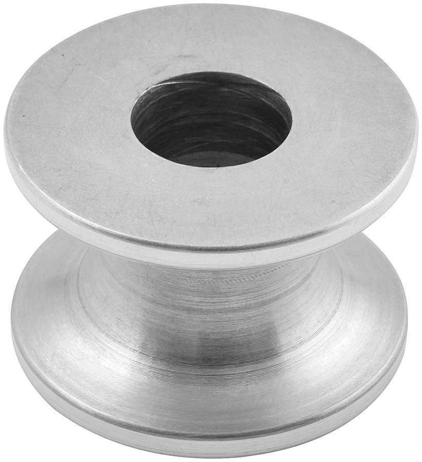 Allstar Performance 18622 Motor Mount Spacer, 1 in Tall, 1/2 in ID, 1-1/2 in OD, Aluminum, Natural, Each
