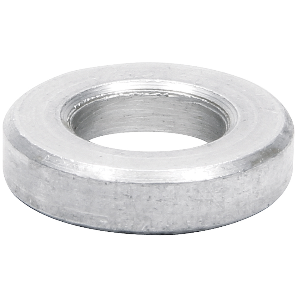 Allstar Performance 18742 Flat Spacer, 3/8 in ID, 11/16 in OD, 1/4 in Thick, Aluminum, Natural, Universal, Pair