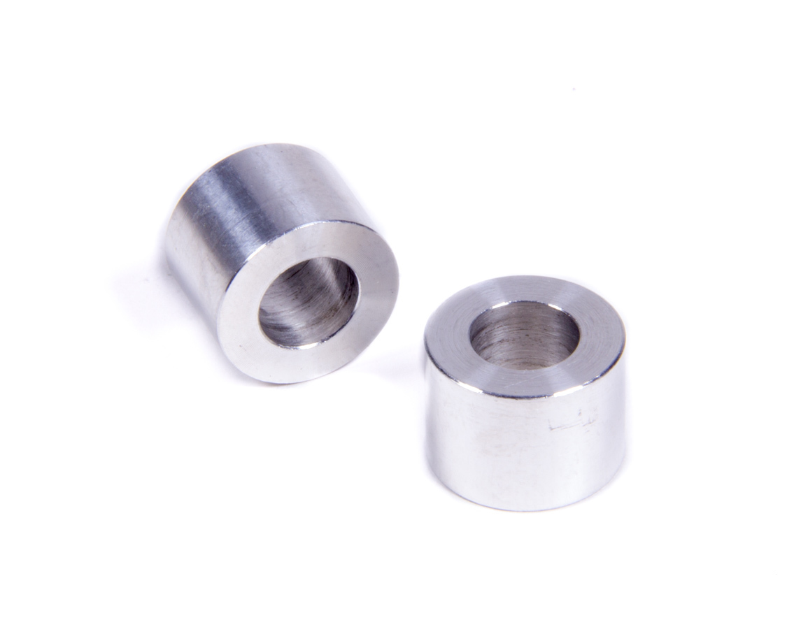 Allstar Performance 18746 Flat Spacer, 3/8 in ID, 11/16 in OD, 1/2 in Thick, Aluminum, Natural, Universal, Pair