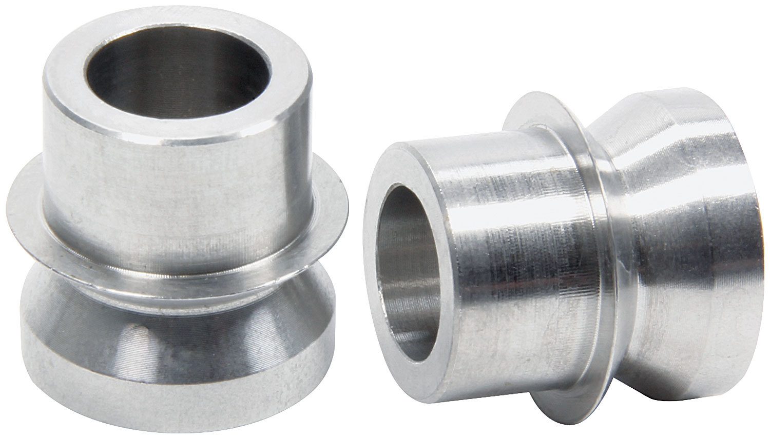 Allstar Performance 18785 Rod End Bushing, 5/8 to 1/2 in Bore, High Misalignment, Stainless, Natural, Pair