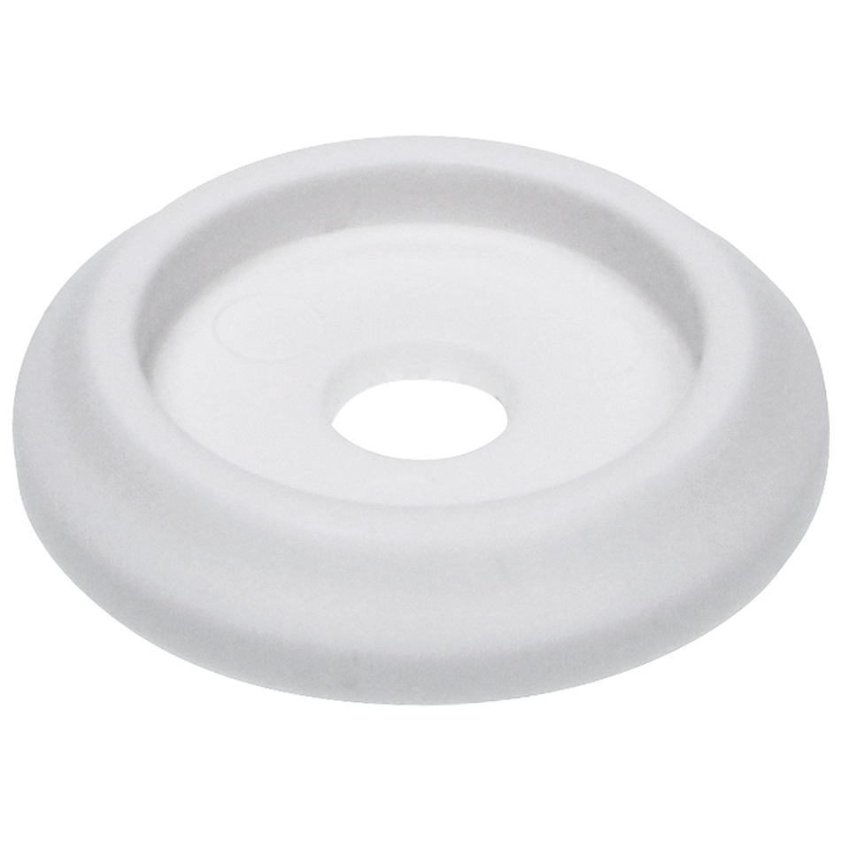 Allstar Performance 18846-50 Body Bolt Washer, Countersunk, 1/4 in ID, 1-1/4 in OD, Plastic, White, Set of 50