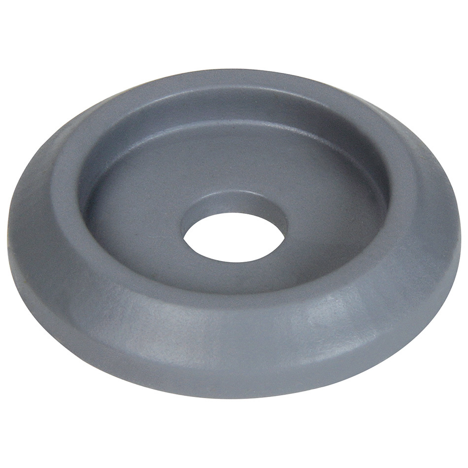 Allstar Performance 18850-50 Body Bolt Washer, Countersunk, 1/4 in ID, 1 in OD, Plastic, Silver, Set of 50