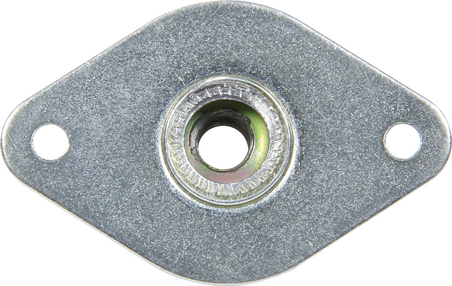 Allstar Performance 19422 Quick Turn Fastener Insert Plate, 1-3/8 in Body, Steel, Natural, Pair