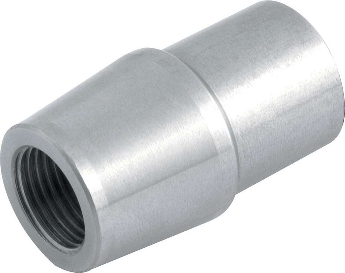 Allstar Performance 22554-10 Tube End, Weld-On, Threaded, 3/4-16 in Right Hand Female Thread, 1-1/4 in Tube, 0.120 in Tube Wall, Chromoly, Natural, Set of 10