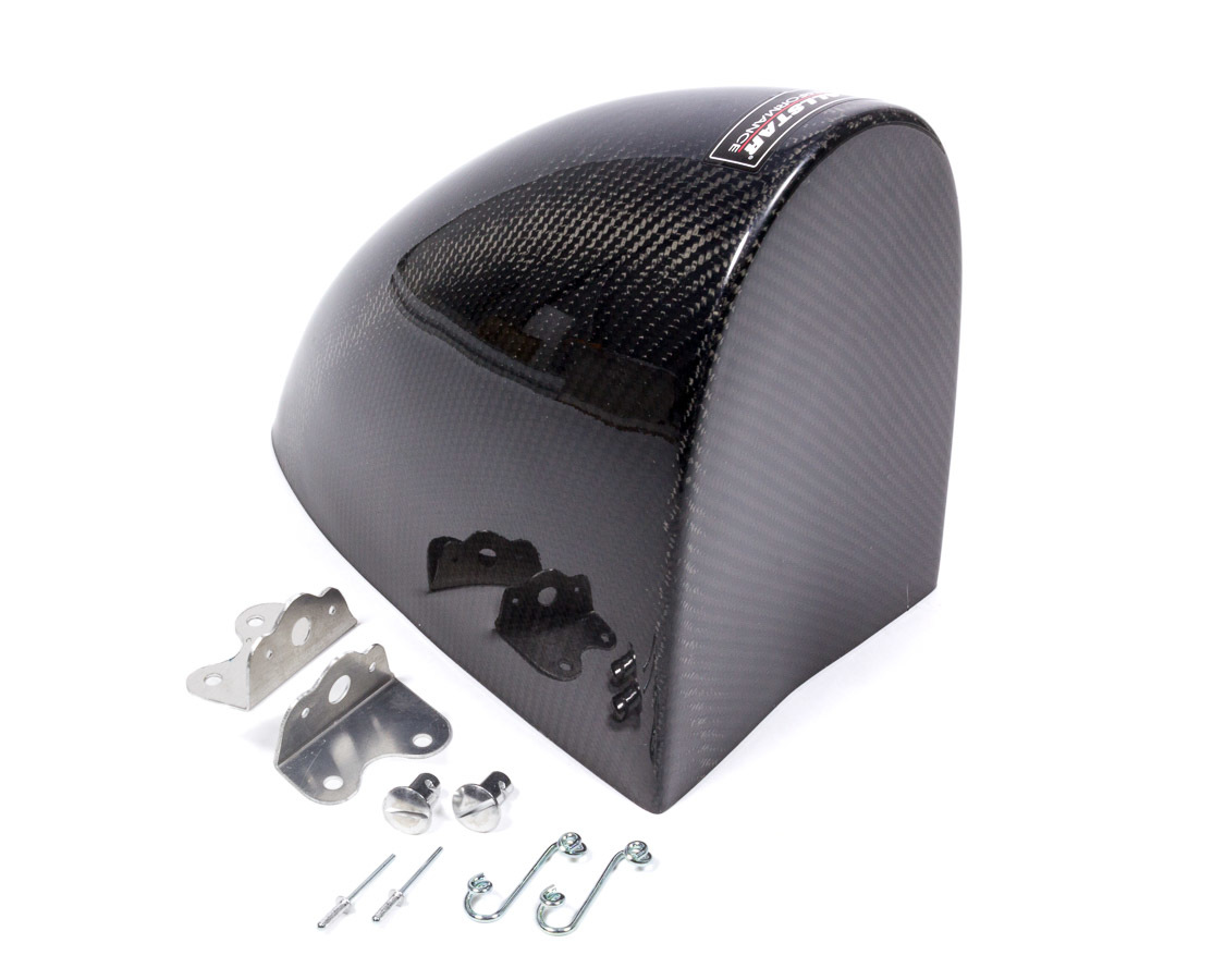 Allstar Performance 23055 Aero Fuel Lid Cover, Brackets Included, Carbon Fiber, Sprint Car, Kit