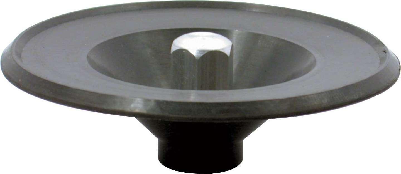 Allstar Performance 26050 Air Cleaner Nut, 1/4-20 in Threads, Black Rubber Seal, Steel, Zinc Oxide, Each