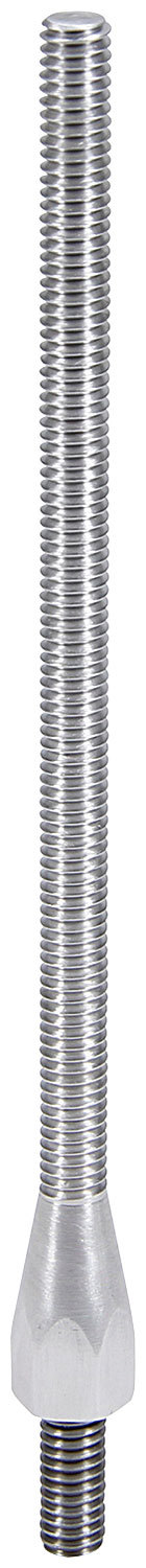 Allstar Performance 26054 Air Cleaner Stud, 5/16-18 in Thread, 6.000 in Long, Aluminum, Natural, Each
