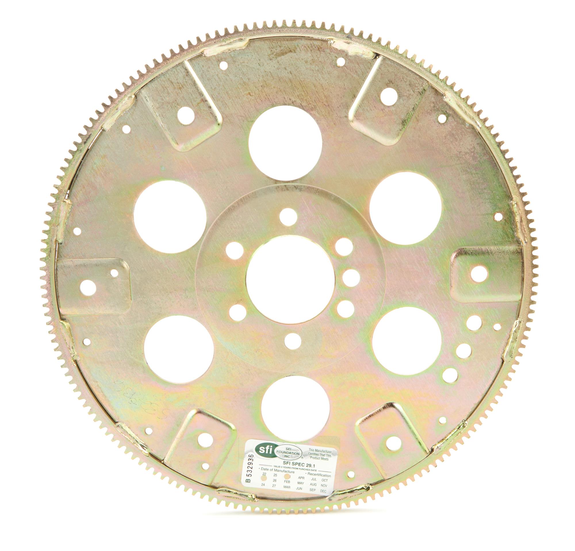 Allstar 26800 Flexplate, 168 Tooth, SFI 29.1, Steel, Internal Balance, 2 Piece Seal, Chevy V8, Each