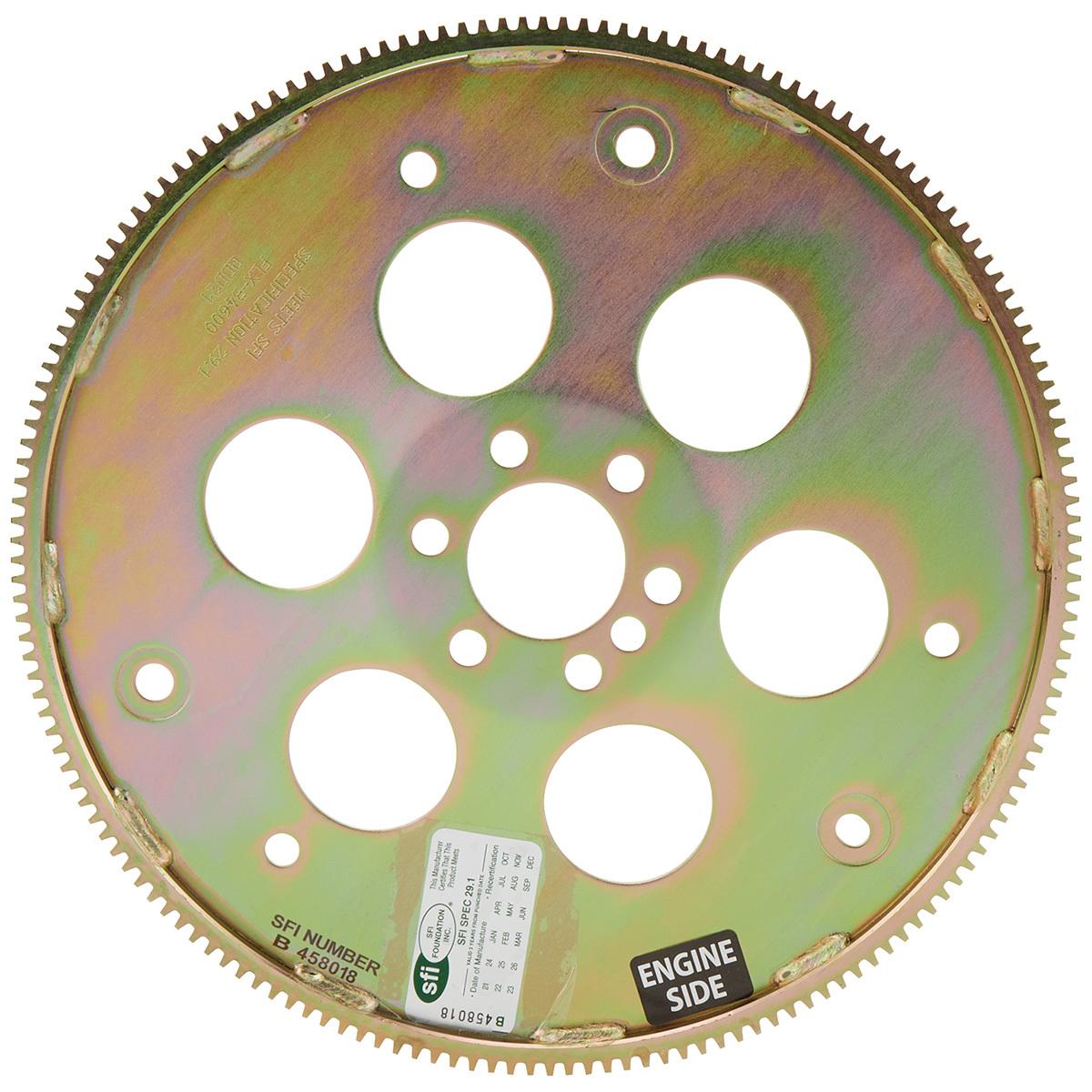 Allstar Performance 26840 Flexplate, 168 Tooth, SFI 29.1, Steel, Internal Balance, 1 Piece Seal, GM LS-Series, Each