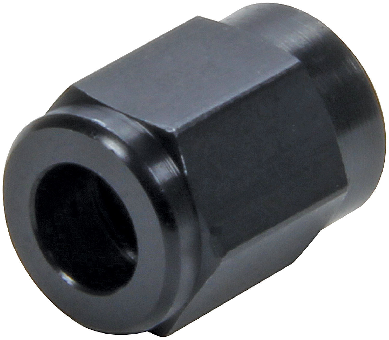 Allstar Performance 50320-20 Fitting, Tube Nut, 3 AN, 3/16 in Tube, Aluminum, Black Anodize, Set of 20