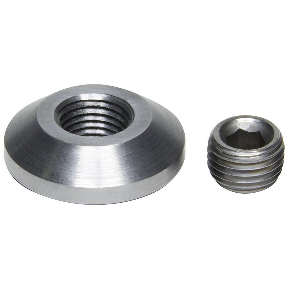 Allstar Performance 50733 Bung and Plug Kit, Weld-On, 3/8 in NPT Plug, Steel, Natural, Kit