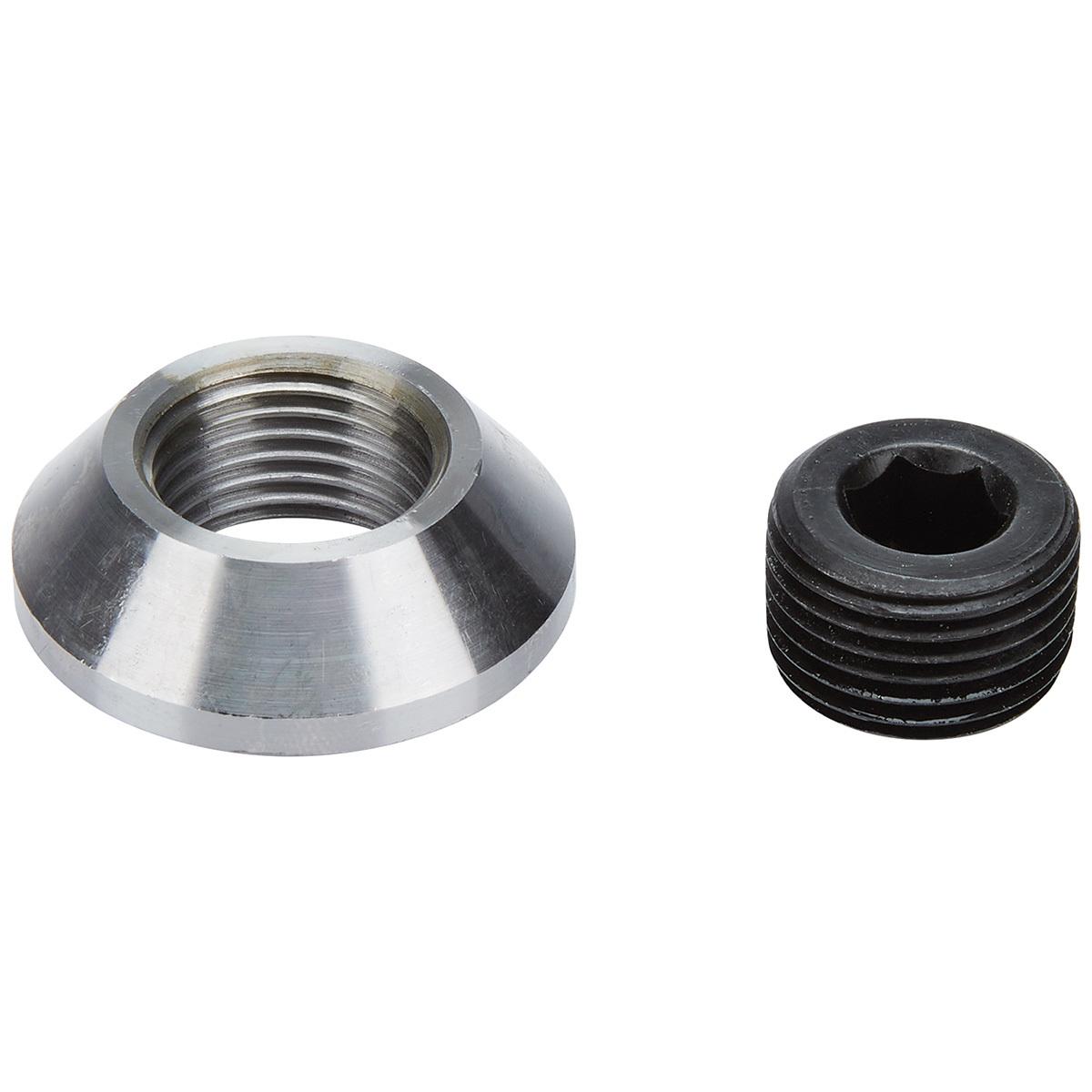 Allstar Performance 50735 Bung and Plug Kit, Weld-On, 1/2 in NPT Plug, Steel, Natural, Kit