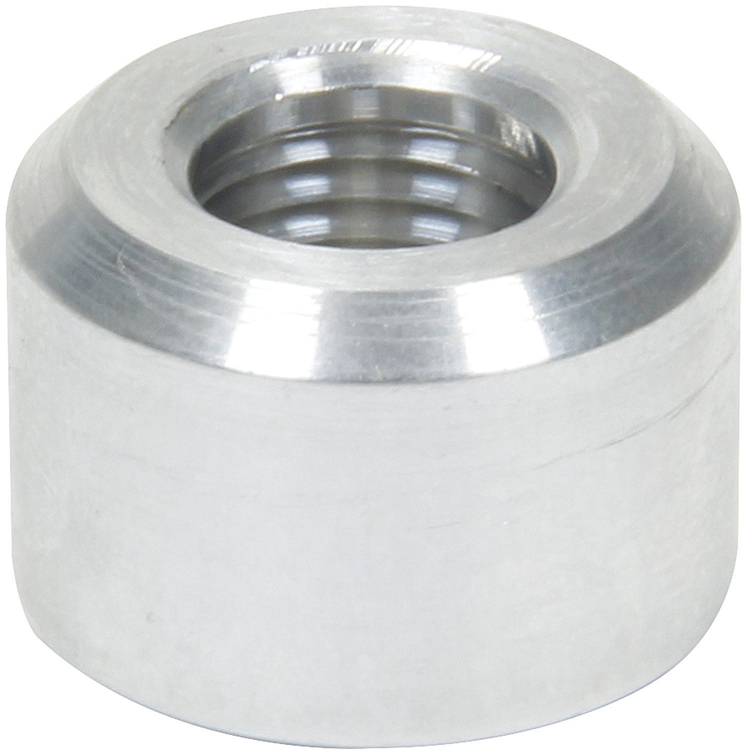 Allstar Performance 50740 Bung, 1/8 in NPT Female, Weld-On, Aluminum, Natural, Each