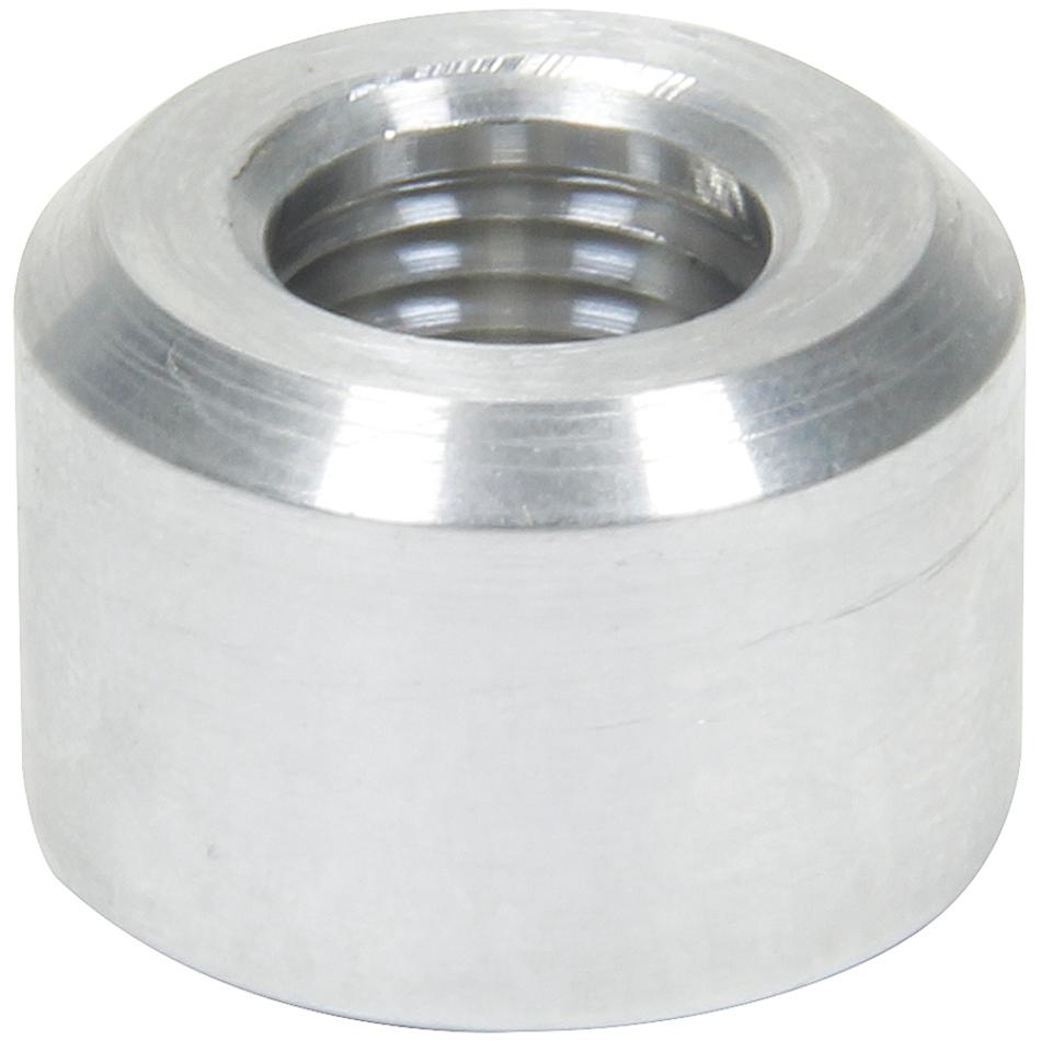Allstar 50741 Bung, 1/4 in NPT Female, Weld-On, Aluminum, Natural, Each