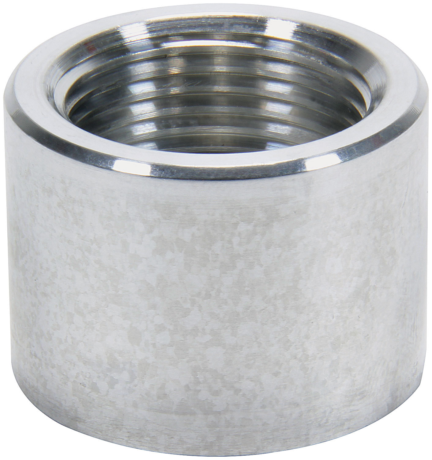 Allstar Performance 50744 Bung, 3/4 in NPT Female, Weld-On, Aluminum, Natural, Each