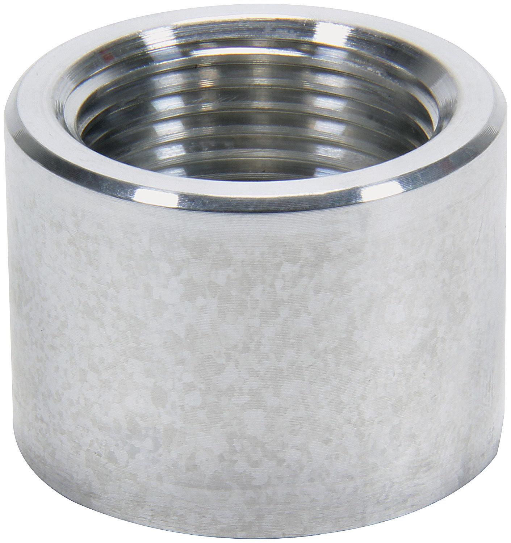 Allstar 50745 Bung, 1 in NPT Female, Weld-On, Aluminum, Natural, Each
