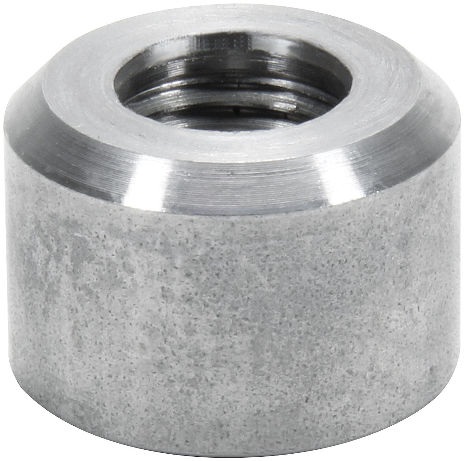 Allstar Performance 50751 Bung, 1/4 in NPT Female, Weld-On, Steel, Natural, Each