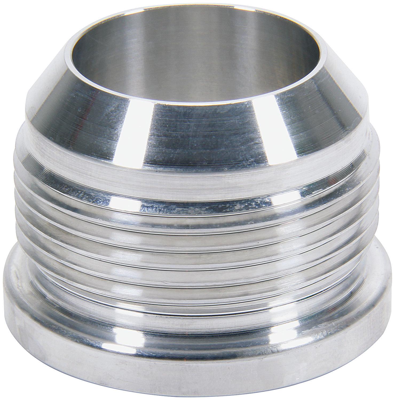 Allstar Performance 50766 Bung, 20 AN Male, Weld-On, Aluminum, Natural, Each